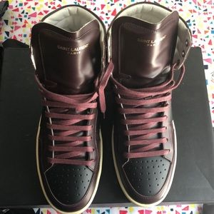Saint Laurent men's 41 sneakers